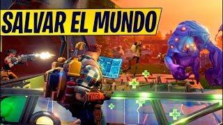 FORTNITE CHILE SAVE THE WORLD / VILLATABLON / GOD MODE / HD / ENGLISH
