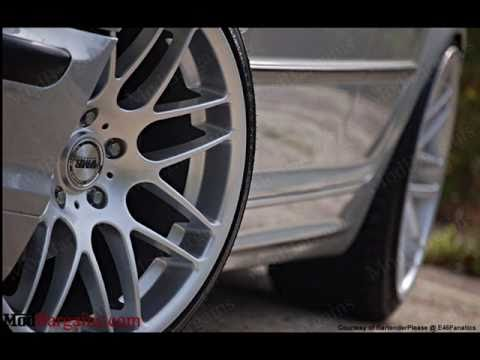 Bmw E46 Sedan Amp Hyper Silver Vmr Csl Wheels Youtube