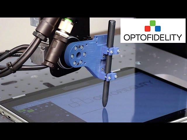 OptoFidelity™ STAFF - Stylus, tilt, azimuth and force feedback robot