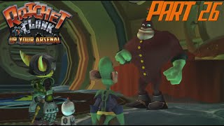 Let's Play Ratchet and Clank: Up Your Arsenal - Part 26: Qwark's Hideout, Thran Asteroid Belt