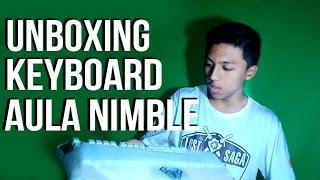 unboxing keyboard aula nimble