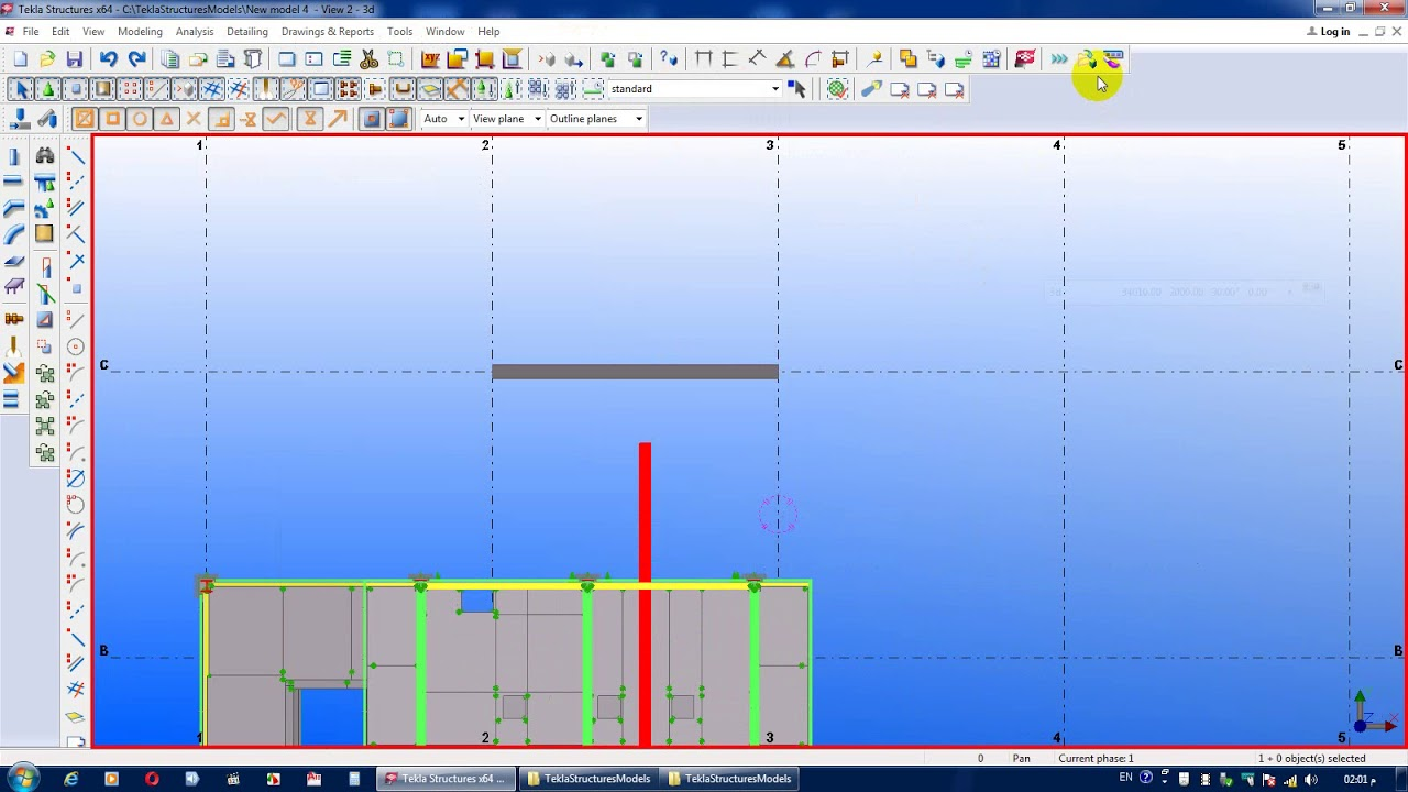 How To Add New Menues In Part User Defined Attributes Tekla Structure  object (دروس تعليمية)