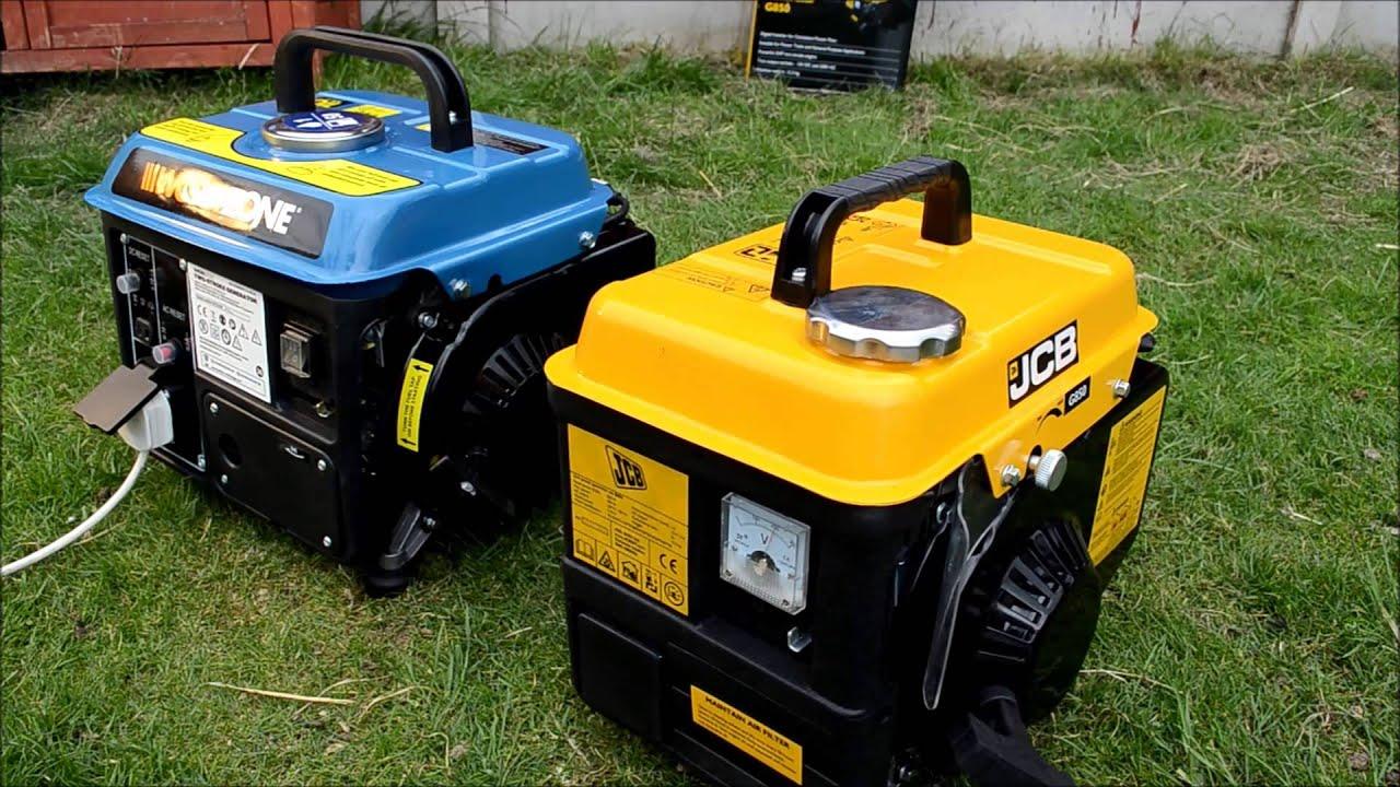 hd workzone 800w jcb 850w portable two stroke generators warm