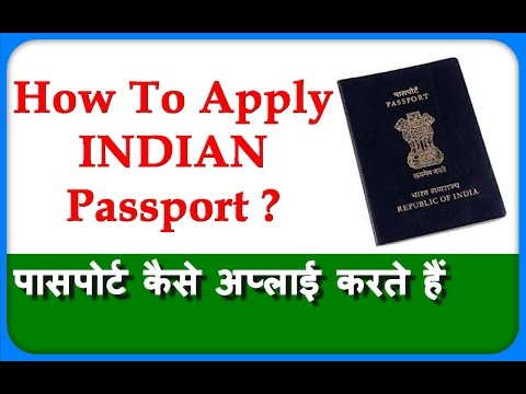 How To Apply For Passport Online In India IN HINDI Fresh And Renew