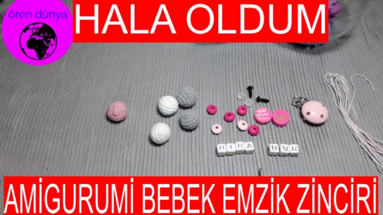 Amigurumi Ayıcık Uyku Arkadaşı Diş Kaşıyıcı Emzik Zinciri 4'lü ... | 720x1280