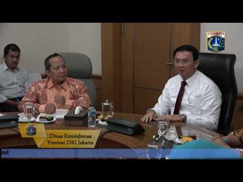 22 Juli 2016 Gub Basuki T. Purnama bertemu dengan BPK DKI Jakarta
