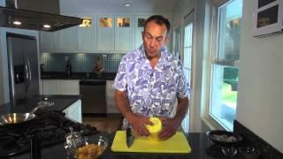 Culinary Nunnsense Calypso Shrimp And Fruit Salsa