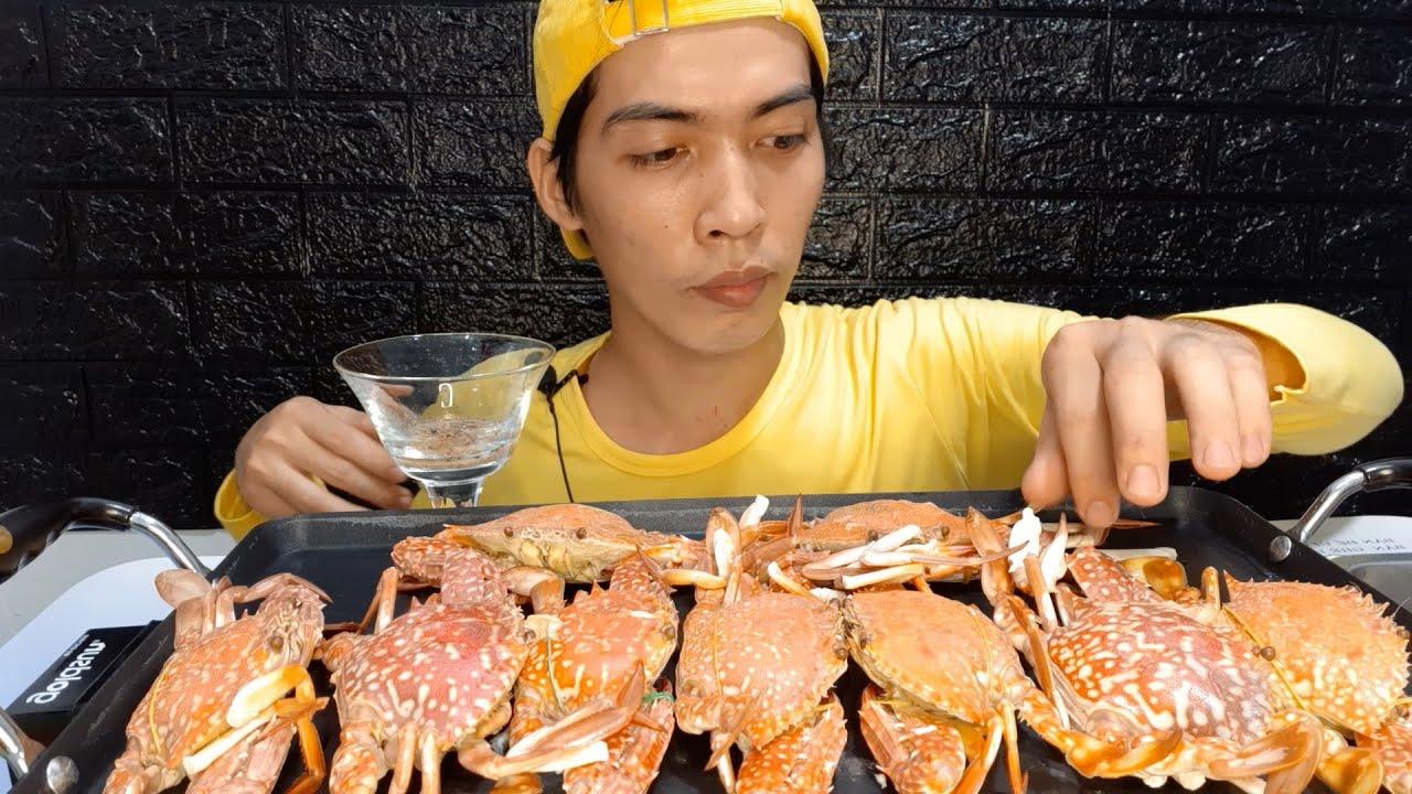 ASMR Zach Choi Ghẹ Biển # 2443 asmr mukbang