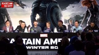 CAPTAIN AMERICA THE WINTER SOLDIER Cast Interviews