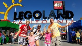 Celebrating Trinity's 6th Birthday at LegoLand!!!