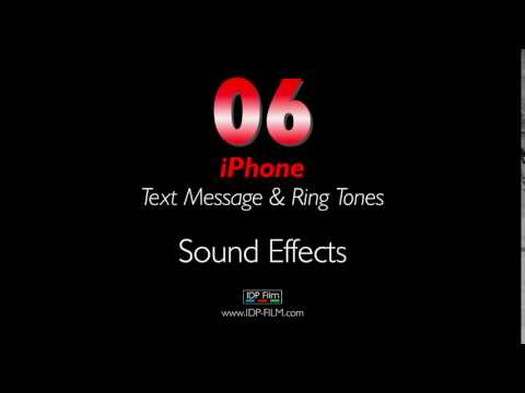 IPhone Message Sound Effects HD - MOBILE Ring Tones 06 - Text Tone