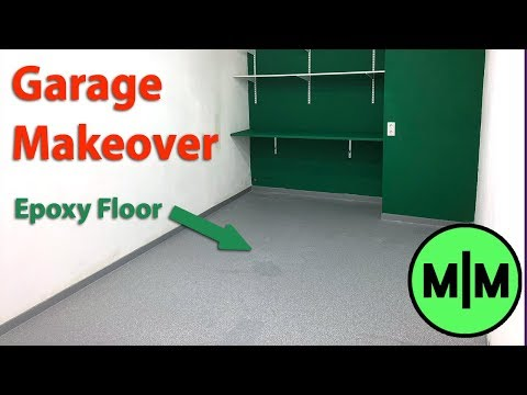 How To Epoxy Coat a Garage Floor (Garage Makeover with Easyground)