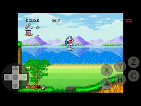 How to play Tiny Toon Adventures game on Android phone