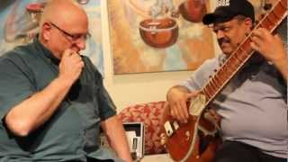 Raga Blues with Ashwin Batish - Sitar and Brad Kava - Harmonica