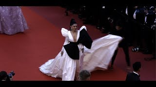 Deepika Padukone, Priyanka Chopra walk Rocketman red carpet at Cannes 2019