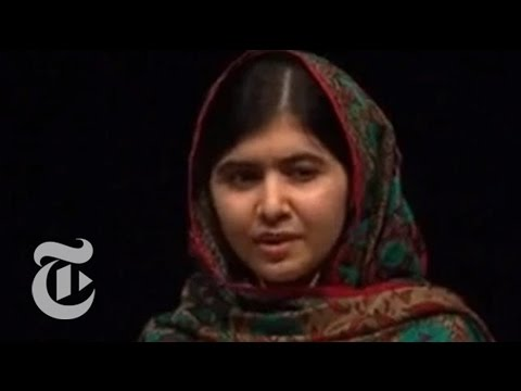 Malala Yousafzai on Winning the 2014 Nobel Peace Prize | The New York Times