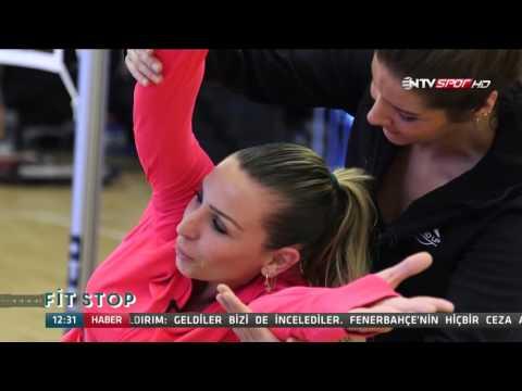 Antigravity Yoga Eğitmeni Mine Melek, Fit Stop