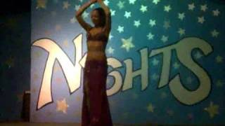 belly dance @ sharm cliff resort 7/2009 ( sharm el sheikh )