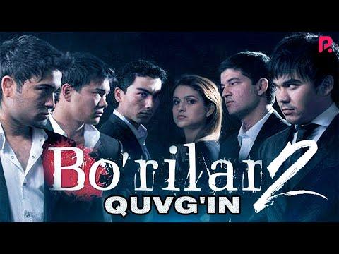 Bo'rilar 2 - Quvg'in (o'zbek film) | Бурилар 2 - Кувгин (узбекфильм) #UydaQoling