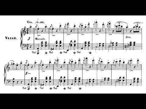 Friedrich Burgmüller - Grande valse de salon sur 'Le pardon de Ploërmel' (audio + sheet music)