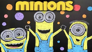 Happy (from Minions / Despicable Me) ♫ 8 HOURS of Chalk Art Lullabies for Babies