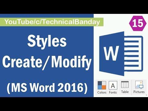 ms word tutorial in hindi