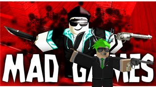 Roblox Gameplay Commentary - Mad Games!