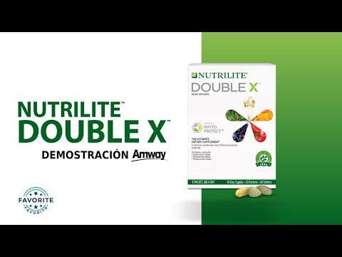 Double x, multivitamínico Nutrilte