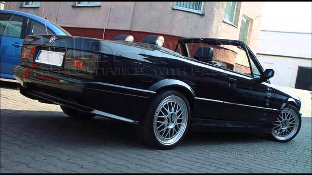 BMW 3 SERIES E30 TUNING M3 BODY KIT - YouTube