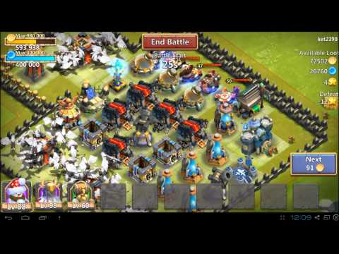 Castle Clash - Gold Farming
