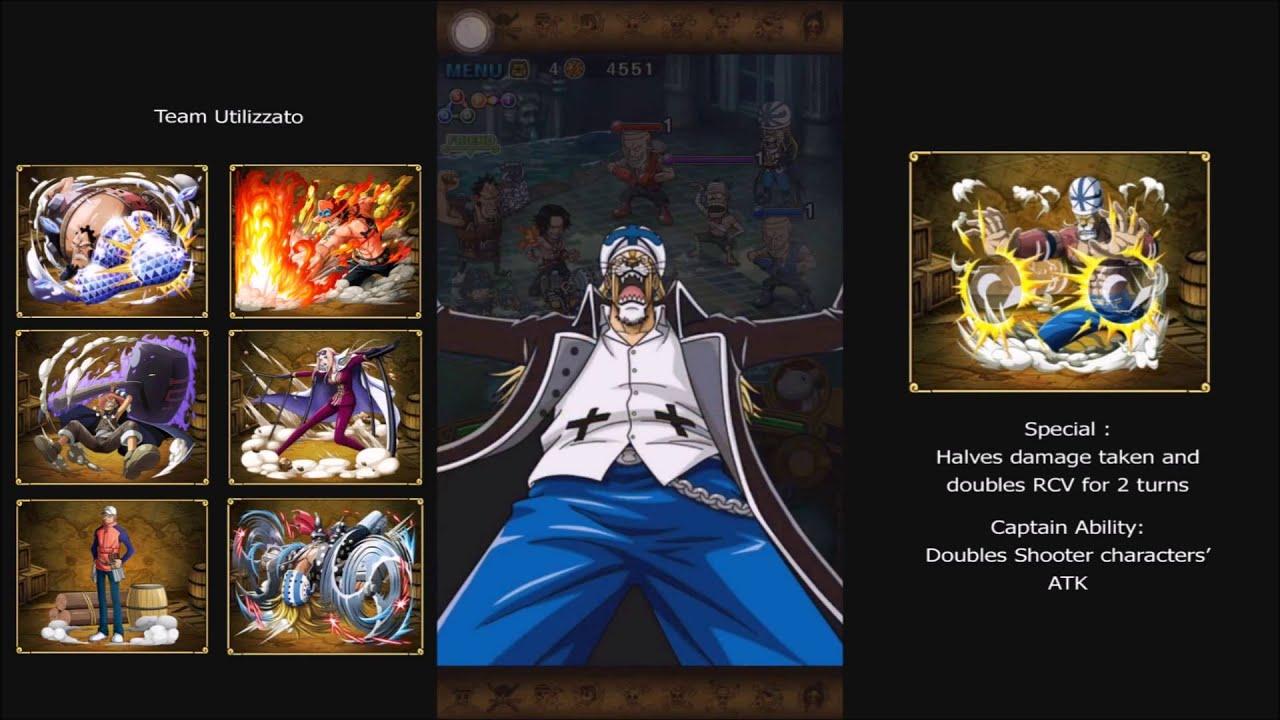 One Piece Treasure Cruise - Absalom - 30 Stamina - YouTube