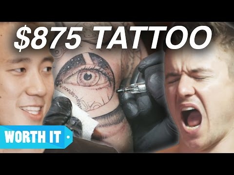 Thumbnail: $80 Tattoo Vs. $875 Tattoo