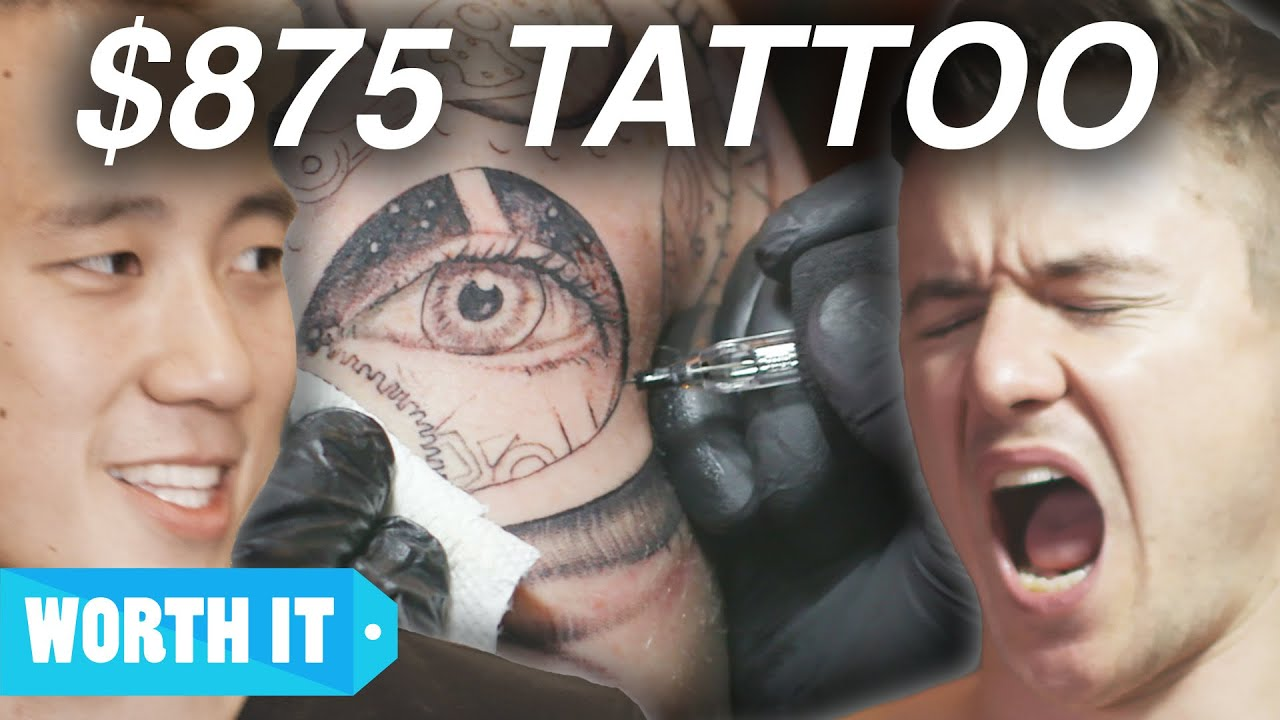 80 Tattoo Vs 875 Tattoo Youtube