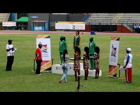AUSC Region 5 Games Luanda Angola Tripple Jump 2016