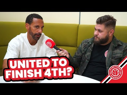 United To Finish 4th?! | Rio Ferdinand Interview | Stretford Paddock