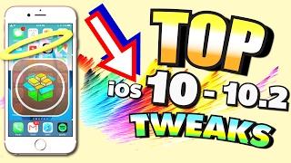 TOP iOS 10 TWEAKS for iPhone, iPad, and iPod (iOS 10.2 & 10.1.1 Cydia/Jailbreak Tweaks) Compatible