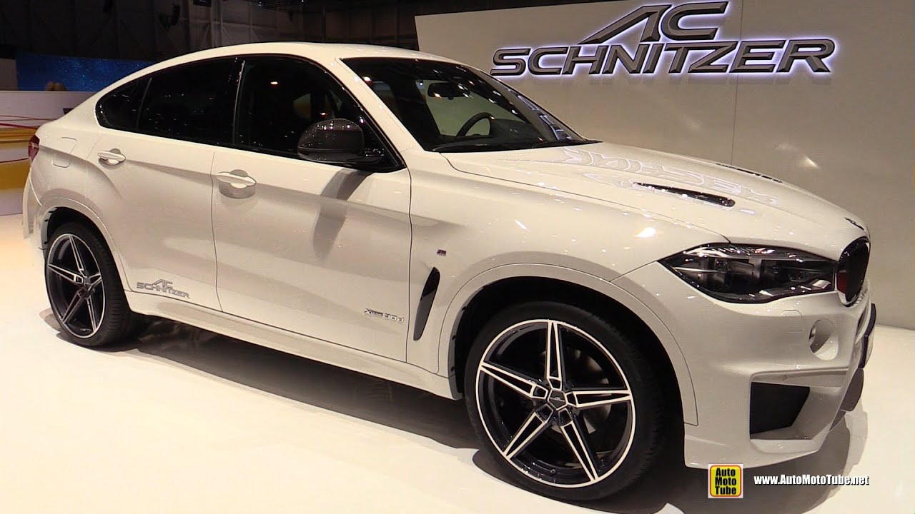 2015 bmw x6 acs6 by ac schnitzer exterior and interior walkaround 2015 geneva motor. Black Bedroom Furniture Sets. Home Design Ideas