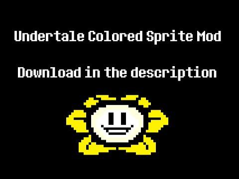 Undertale Colored Sprite Mod Released Undertale