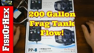 Unboxing Jebao PP8s & Apex Programming | 200 Gallon Frag Tank Build Part 5