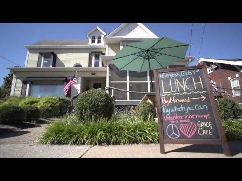 Grace Cafe, Danville, KY. Everybody. Eats. Everyday.