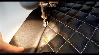 Перетяжка сиденья для бешеной табуретки. Перетяжка и ремонт салона автомобиля.