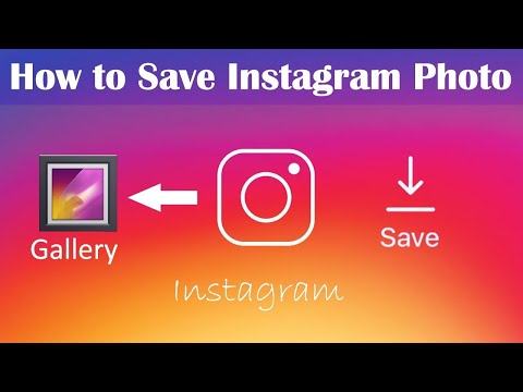 How To Save Instagram Photos On Android Phone - Download Without App 2019
