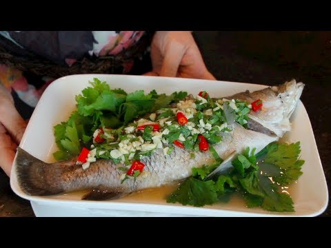 Asian Fish Recipes Sea Bass