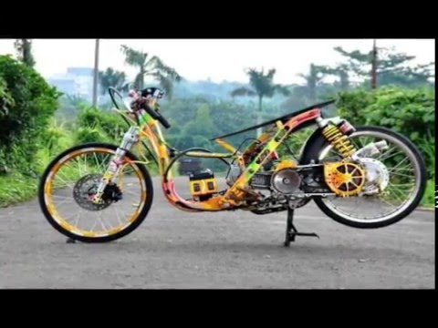 Modifikasi Scoopy Drag Youtube