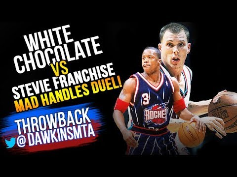 the latest c8245 cd4db Jason Williams vs Steve Francis MAD HANDLES Duel 2002.12.13 - Francis With  29, JWill With 25-12 Ast!