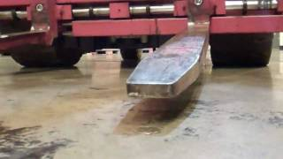 The infamous 50p forklift trick 50 pence coin trick Fork Lift Truck trick