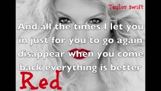 The Last Time Lyrics- Taylor Swift Feat Gary Lightbody