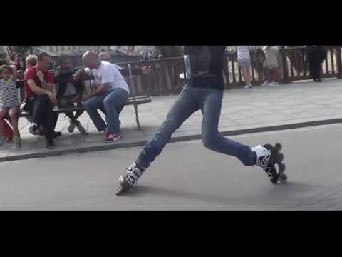 Roller freestyle Paris   Spring 2013