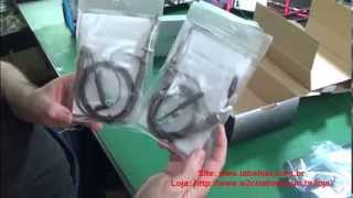 Video tutorial Osciloscopio USB Hantek 6022BE