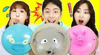 一秒鍾氣球變動物的神奇玩具!一起來吹吹看吧!小伶玩具 | Xiaoling toys